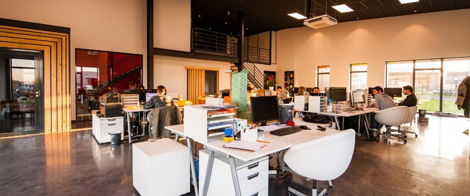 How your office space design is affecting productivity