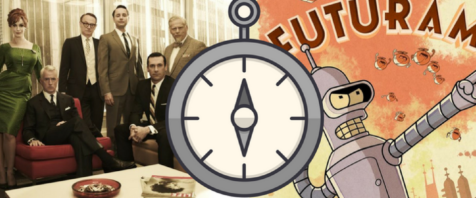 From Mad Men to Futurama - how office design trends have changed in the last 60 years