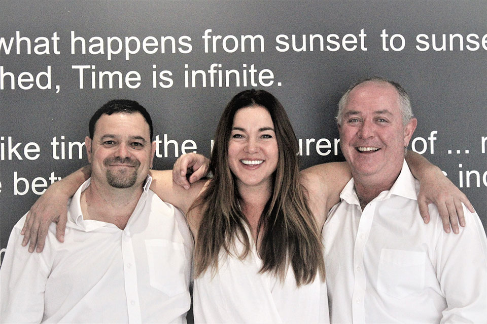 time&space team photo